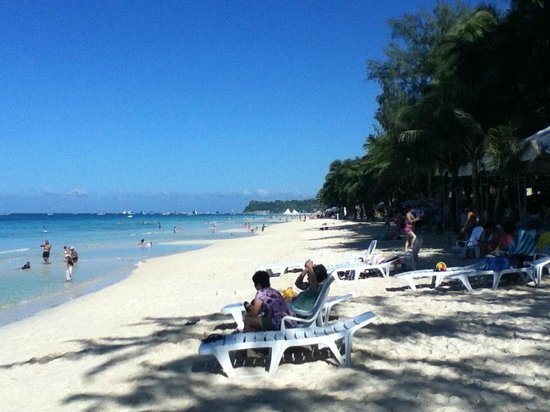 Crown Regency Resort Boracay:                   Just in front of Hotel