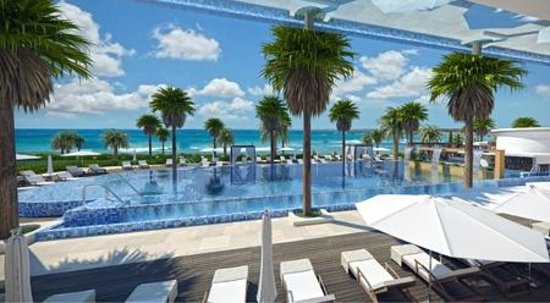 Alexander The Great Beach Hotel: Artist Impression Pool Area