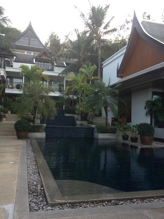 Baan Yin Dee Boutique Resort:                   one of the pools