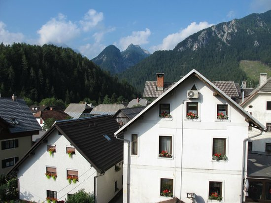 Hotel Kotnik:                   a room with a view