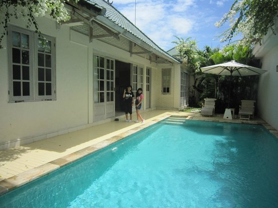 Artemis Villa and Hotel:                   Private pool