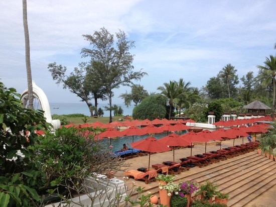 JW Marriott Phuket Resort & Spa:                   View of the grounds, with Pool Area