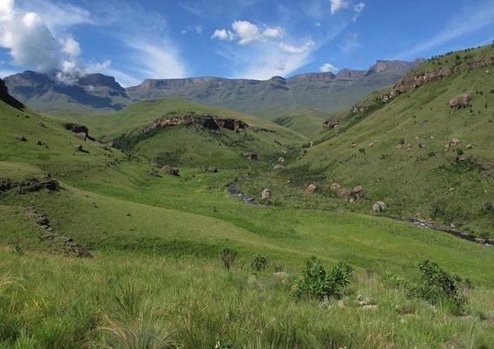 uKhahlamba-Drakensberg Park, Sr-Afrika: Giants Castle Camp