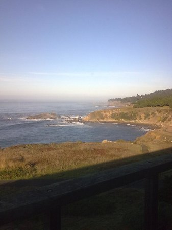 Timber Cove Inn:                   View From The Room--Timber Cove