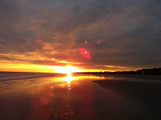 Fripp Island, Caroline du Sud :                   What a sunset