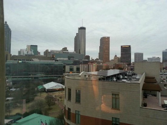 Hilton Garden Inn Atlanta Downtown: The View