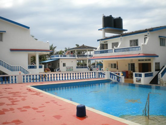 Empire Beach Resort Hotel:                   view from pool area