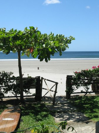 La Veranera - Playa El Coco:                   View to the beach