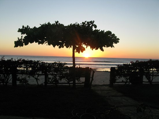La Veranera - Playa El Coco:                   Sunset on the beach