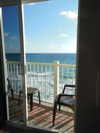Sun Tower Hotel & Suites on the beach:                   Our view from room 953 was breathtaking!