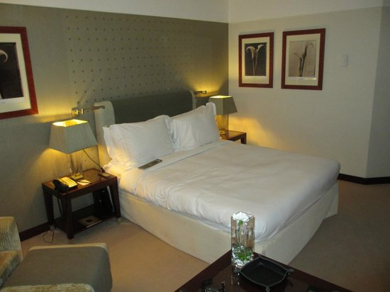 InterContinental Lisbon:                   our room