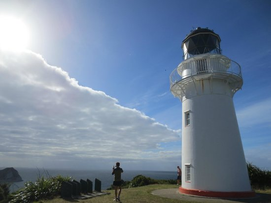 Gisborne, Nowa Zelandia:                   The Lighthouse