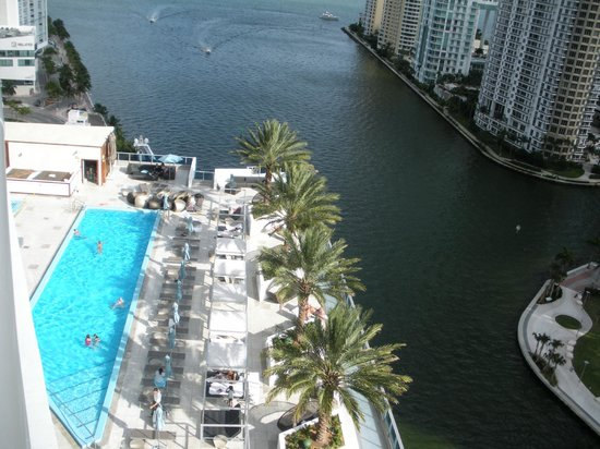 EPIC Hotel - a Kimpton Hotel: Pool view from our room