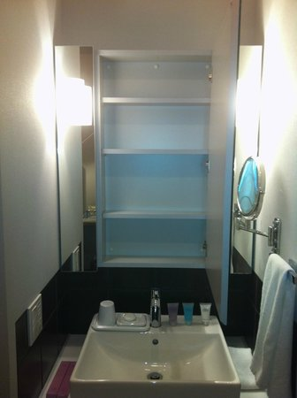 Citadines Shinjuku Tokyo:                   Wash basin. The toilet and shower are situated in their own separate enclosed