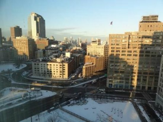 The James New York: The view from the 14th floor looking west!