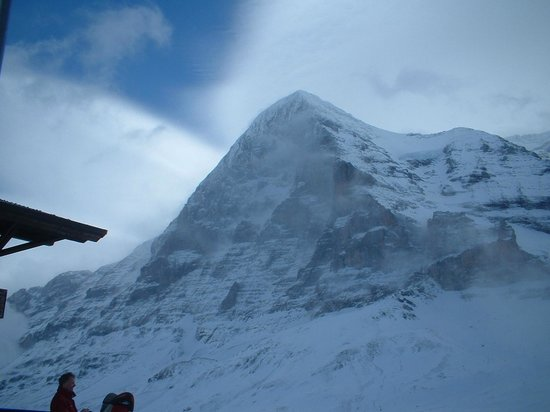 Hotel Wengener Hof:                   North Face of the Eiger