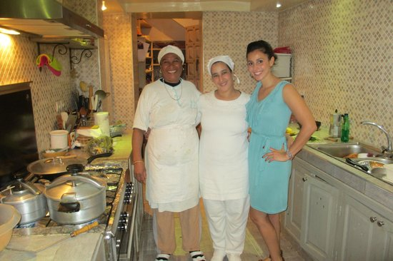Riad Camilia:                   Cooking lessons with the ladies at Riad Camillia