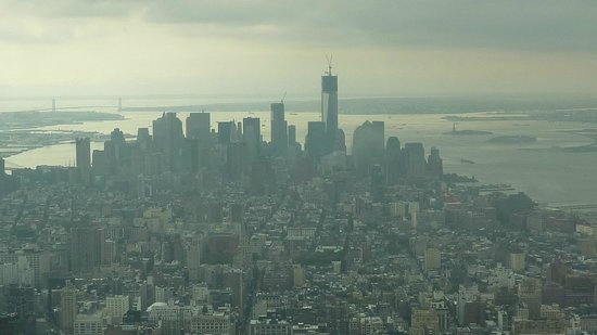 View from 102nd floor of empire state building looking for 102nd floor of the empire state building