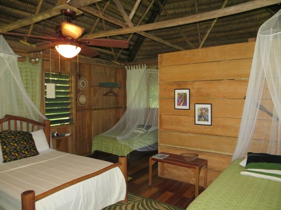 Tranquility Lodge: Thatched garden casita room