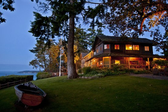 The Captain Whidbey Inn: Located outside the town of Coupeville, the Inn perfect for a quite, relaxing getaway.