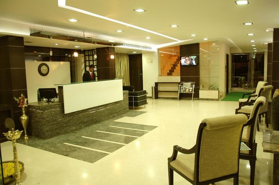 Entrance Lobby at Suvarna Regency