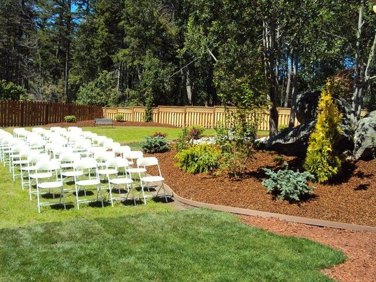 Oak Harbor, Waszyngton: Outdoor Wedding Setup