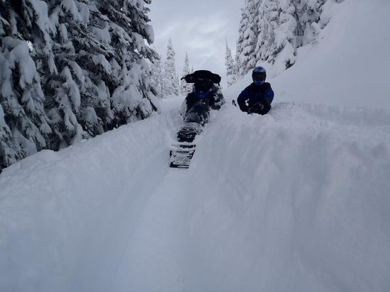 Glacier House Resort:                   Ya Revelstoke deeps!