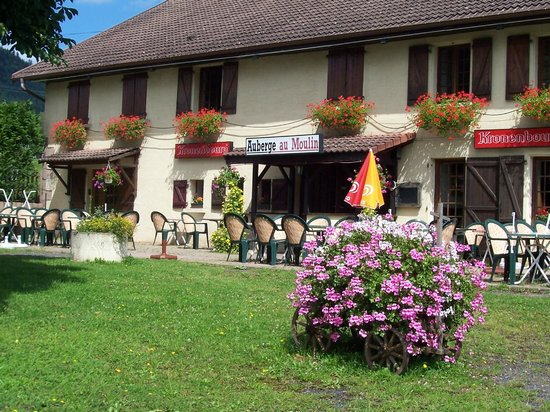Saint Die des Vosges, Frankrike: restaurant traditionnel