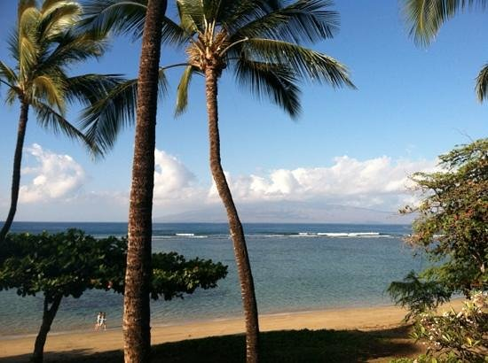 Puunoa Beach Estates: View from#205 lanai.