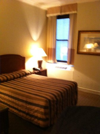 Hotel Pennsylvania New York:                                     Old but clean and comfortable room