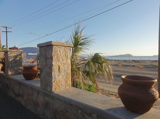 Costa del Sol Hotel:                   View to the Sea of Cortez