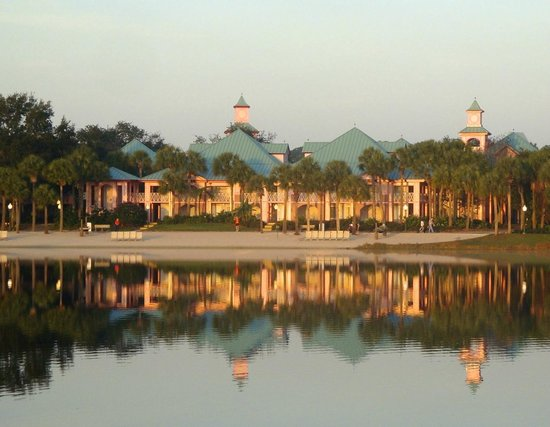 Disney's Caribbean Beach Resort:                   A Beautiful Morning View