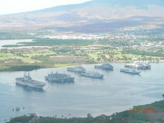 Pearl Harbor  Picture Of Blue Hawaiian Helicopter Tours  Oahu Honolulu  T