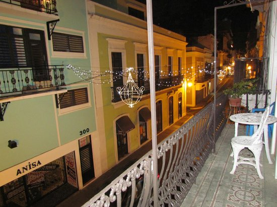 Fortaleza Guest House: common balcony- nice view