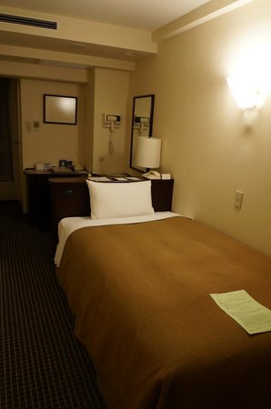 Shinagawa Prince Hotel Tokyo: Small but well appointed and quite a cosy room