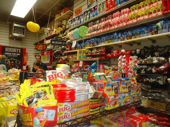Old Fashioned Candy Store In New Jersey