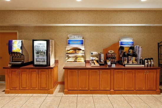 Holiday Inn Express Walla Walla: Breakfast Bar
