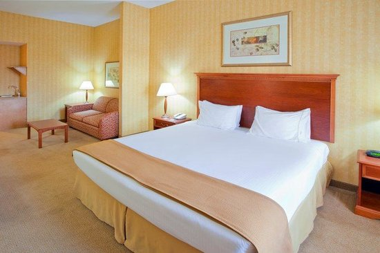 Holiday Inn Express Hotel &amp; Suites: King Bed Suite