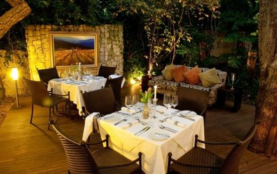 Clico Boutique Hotel:                   Private Dining Area