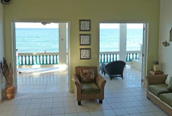 Sunset Paradise Villas:                   Living room looking out