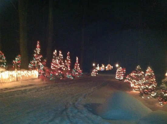 Candia, NH:                   Christmas lights