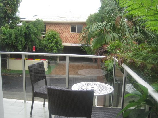 Bayview Beachfront Apartments:                   garden view