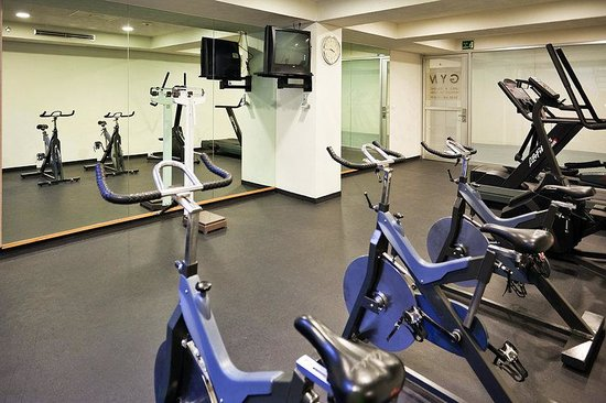 Holiday Inn Mexico City Tlalpan Churubusco: Fitness Center