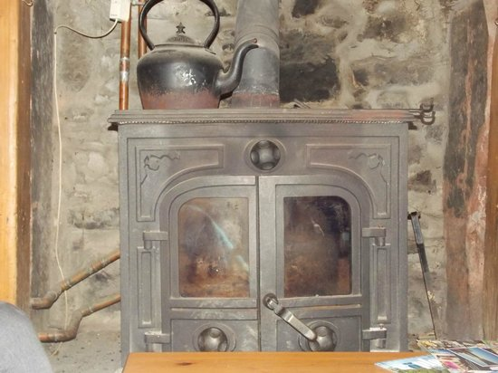Easterhill Farm Bed & Breakfast:                   Fireplace