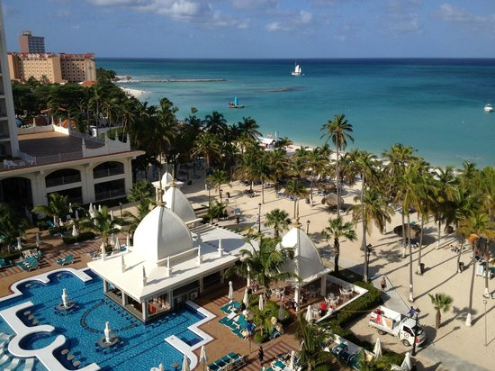 Riu Palace Aruba:                   Room view