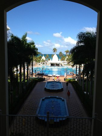 Riu Palace Aruba:                   View from the lobby
