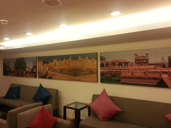 Four Points by Sheraton Jaipur:                   Lobby on Club Floor