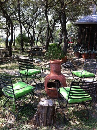Stony Ridge Ranch: Plenty of spots to read, relax, rejuvinate.
