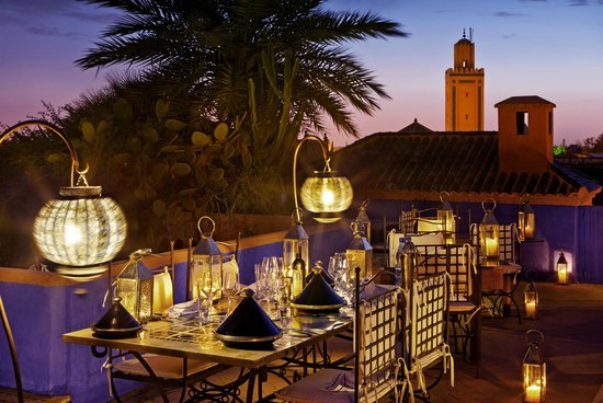 Riad Farnatchi: Terrace