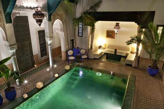 Riad Farnatchi: Pool